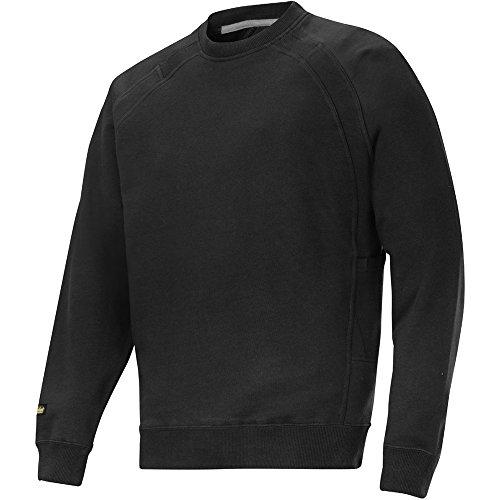 Snickers Classic Sweatshirt stahlgrau Größe: S schwarz