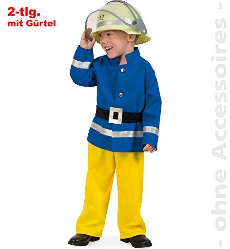 Feuerwehrmann Kleine Kostüm - Kinderkostüm