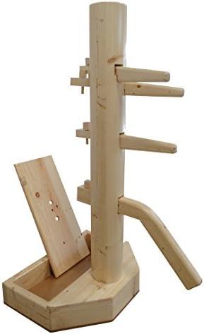 Wing Chun Wooden Dummy with Base With Form And Cover Cover Cover Natural Coloree B076VSCHRS Parent | Garanzia autentica  | Funzionalità eccellenti  | Il Nuovo Prodotto  | Modalità moderna  d3a3d5