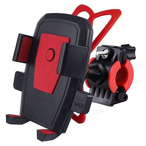 Supporto per Telefono Cellulare per Mountain Bike, Auto, Moto, Bici, Universale, Colore: Rosso
