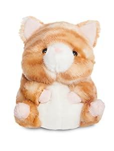 Aurora World 60750Rolly Mascotas Poppy Naranja Tabby Cat 5en