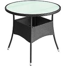 Amazon.fr : Table Jardin Resine Tressee