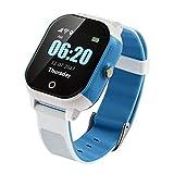 Smart Watch Kids Montre GPS + LBS + WiFi + GSM Smart Watch Soutien Carte SIM 1.30 Pouces Écran Tactile Coloré Timer Réveil Podomètre Jouet Enfant cadeux WiFi Positionnement SOS