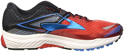 Brooks Ravenna 8, Scarpe da Corsa Uomo Rosso (High Risk Red/Black/French Blue)