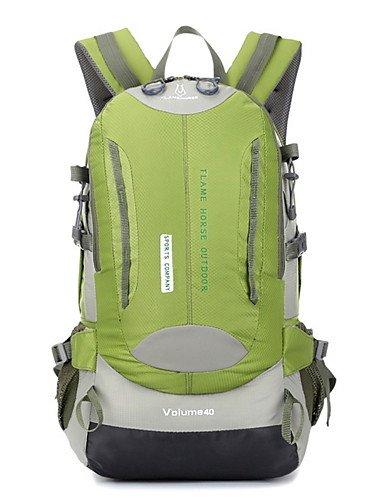 ZQ 35L L Tourenrucksäcke/Rucksack Camping & Wandern / Klettern Draußen Multifunktions Grün / Rot / Schwarz / Blau / Orange Nylon No Green