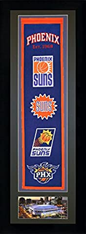 NBA Phoenix Suns Legends Never Die Team Heritage Banner with Photo, Team Colors, 15