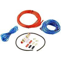 De Metal 800W 14GA Car Audio Subwoofer Amplificador AMP cableado Fusible Soporte de Alambre de Soporte de Cables Kit de instalación de la distorsión de bajo Ruido