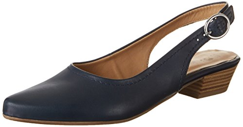 Tamaris Damen 29400 Slingback, Blau (Navy Leather 848), 38 EU