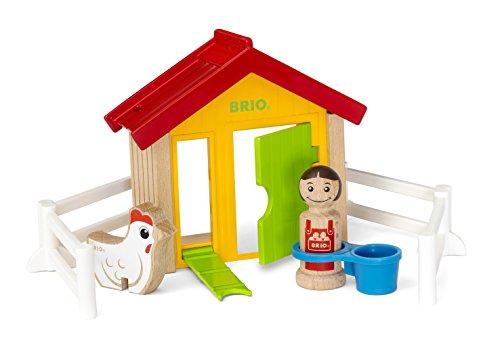 Preisvergleich Produktbild BRIO 30305 - Hühnerhaus