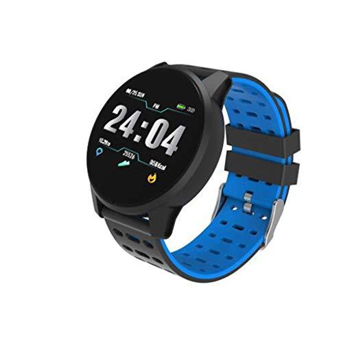 Smart Watch, Elospy Fitness Armband Tracker IP67 Wasserdicht mit GPS Schrittzähler Uhr Herzfrequenz mit Pulsmesser Blutsauerstoff Kalorienzähler Schlafmonitor für Damen Herren Geschenk