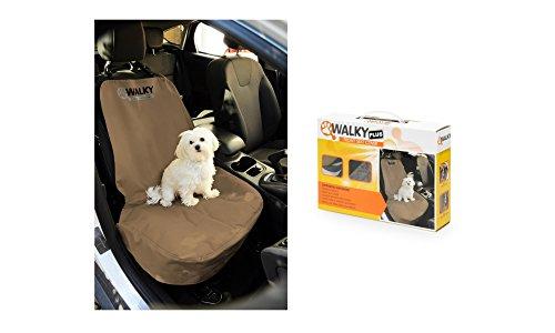 Camon Walky Front Seat Protector Plus - Coprisedile Anteriore Auto, Fodera Protezione Sedile Da Sporco Peli Di Animale Cane Gatto