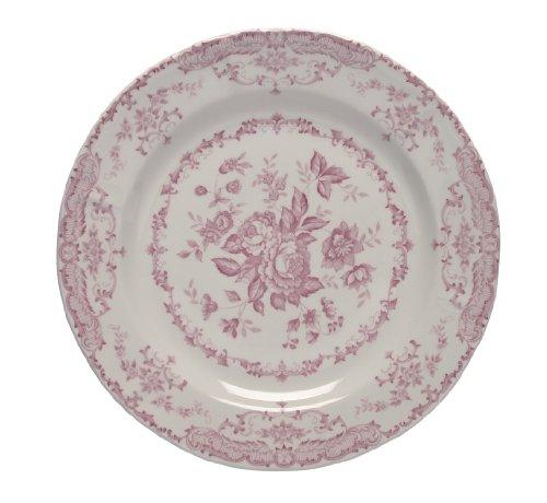 Bitossi Home Set Di 6 Piatti Piani, Linea Rose, Pink