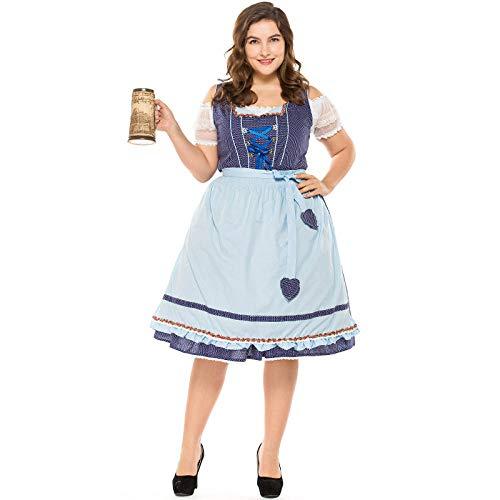 Blue M's M & Deluxe Kostüm - Unbekannt Halloween-Party-Kostüm, Kostüm, Kostüm, Deluxe Kostüm, fette Männer-Kleidung, Oktoberfest-Kleidung, Rollenspiel Bühne, Kostüm, Performance-Bekleidung, Blue Wave Point, M