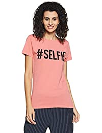 French connection Women's Plain T-Shirt
