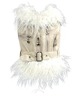 Y-BOA 1PC Blouson Pour Mini Chien Hiver Chaud Vêtement Animaux Peluche