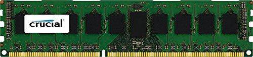 Crucial 8GB, 1866MHz, DIMM 8GB DDR3 1866MHz ECC Speichermodul - Speichermodule (1866MHz, DIMM, 8 GB, 1 x 8 GB, DDR3, 1866 MHz, 240-pin DIMM, Grün)