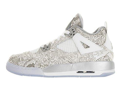 Nike - Air Jordan 4 Retro Laser Bg, Scarpe sportive Bambino Multicolore