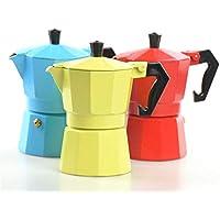 Cafetera Italiana Cafetera Espresso Italiana Cafetera Estufa de Aluminio Moca Pot Cafetera Italiana Filtro Olla Moka