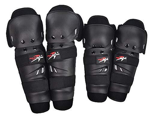 Pro Biker Knieschoner und Ellenbogenschoner für BMX MTB Freeride Downhill DH Arti Martiali