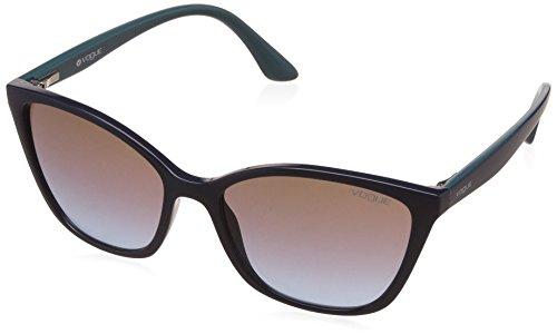 Vogue Gradient Square Women's Sunglasses - (0VO5117SI22884856|56|Azure Grad Pink Grad Brown Color) image