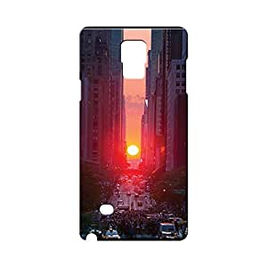 BLUEDIO Designer Printed Back case cover for Samsung Galaxy Note 4 - G6447