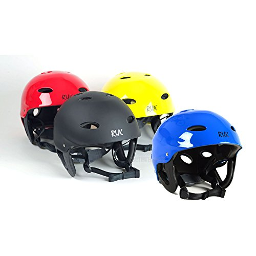 RUK Sport RAPID Kayak / Canoeing Watersports Helmet - Various Colours Red - SM - 51-56cm