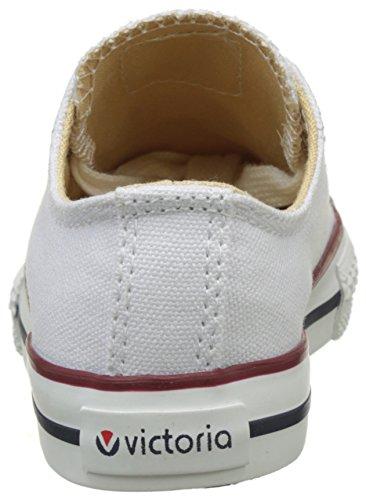 Victoria - Zapato Basket Autoclave, Basse Unisex – Bambini Bianco (Blanco)