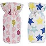 Gilli Shopee Baby Milk Feeding Bottle Soft Slim Bottle Cover For 250 Ml Pack Of 2 (Color Or Design May Vary)