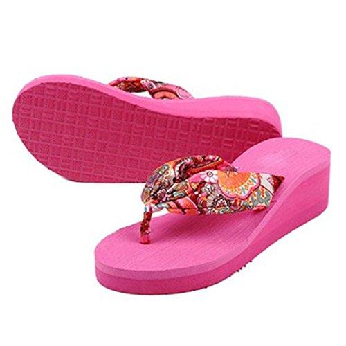 Desconocido , Damen Hausschuhe, rosa - rosa (b) - Größe: 38 EU