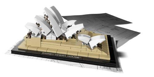 Imagen 2 de LEGO Architecture 21012 - La Ópera de Sydney