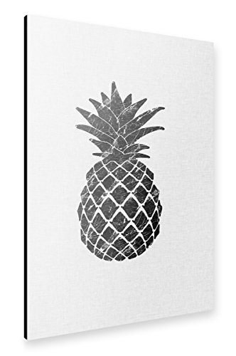 artboxONE Alu-Print 150x100 cm Marble Pineapple von Künstler Orara Studio