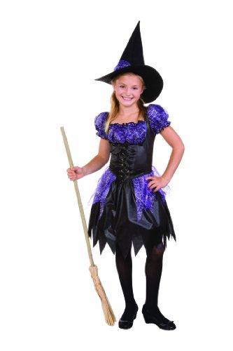 RG Kost-me 91284-L Sparkle Hexe Kinderkost-m - Gr--e - Sparkle Hexe Kostüm