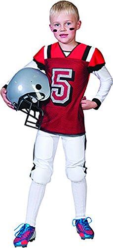 Halloweenia - Quarterback American Football Sport Kostüm für Kinder, 152-158, 12-13 Jahre, - Einfache Halloween-college-kostüme