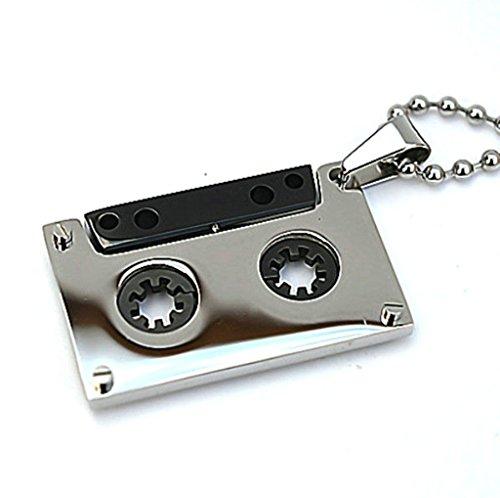 amdxd-bijoux-acier-inoxydable-pour-des-hommes-pendentif-style-vintage-argent-noir-audio-tape-3321cm