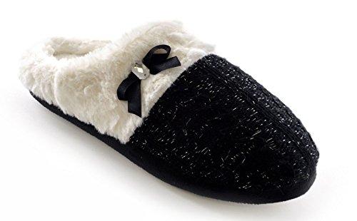SlumberzzZ, Pantofole donna Nero (nero)