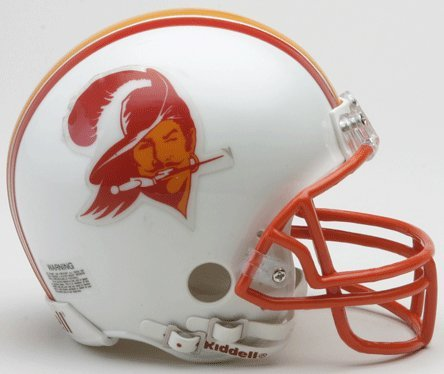 Riddell Tampa Bay Buccaneers NFL Throwback Mini Helmet