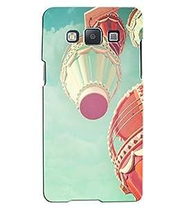 Citydreamz Hot Air Balloons/Fun/Sports/Adventure Hard Polycarbonate Designer Back Case Cover For Samsung Galaxy E5