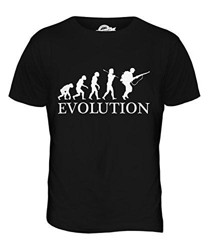 CandyMix Soldat Evolution Des Menschen Herren T Shirt Schwarz