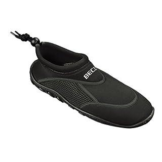 BECO Badeschuhe / Surfschuhe für Damen und Herren schwarz 43