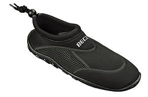 BECO Badeschuhe / Surfschuhe für Damen und Herren schwarz 38