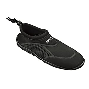 Beco spiaggia scarpe bandesc huhe Aqua Scarpe da Surf Stand Up Paddling Watt Scarpe per Uomo, Donna e Bambini, Uomo, Badeschuh Beco Surf- 9217, nero, 45