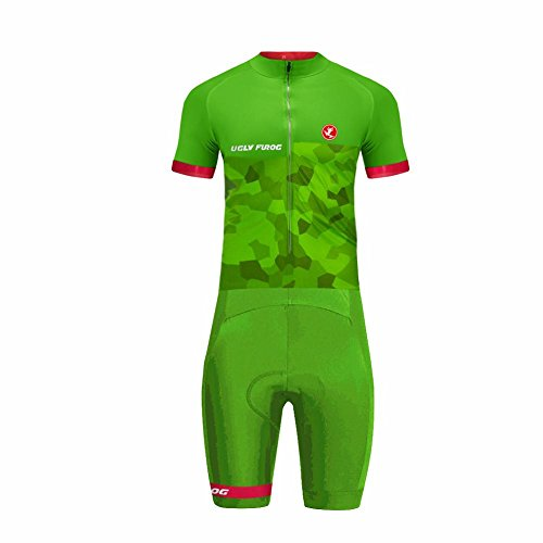 Uglyfrog 2018-S01 Bike Wear Neu Sommer Herren Männer Cycling Jersey Anzüge Radtrikot with Short Legs Skinsuit Sport & Freizei Clothes