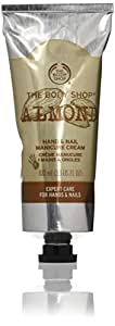 The Body Shop Hand and Nail Cream New Almond 3.3 Fluid Ounce