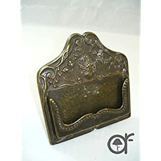 Entry cards Card Holder for Office/Study in Antique Brass