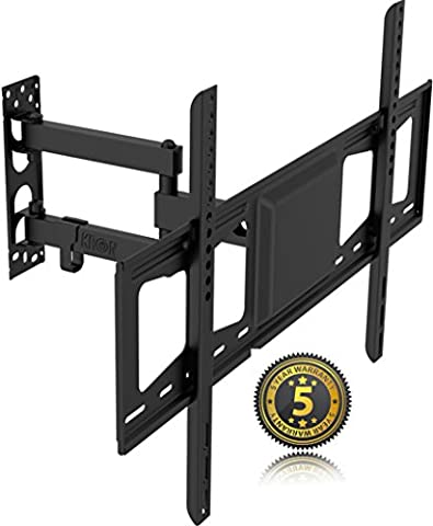 Full Motion Articulating Swivel & Tilt TV Wall Mount Bracket for 32