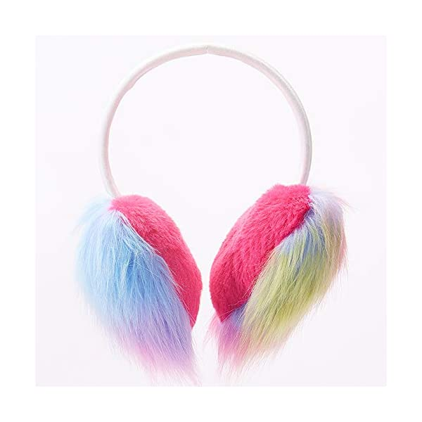 Gifts Treat Paraorecchie Paraorecchie per ragazze in peluche design carino 4 spesavip
