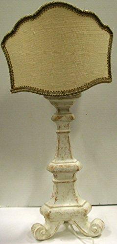 Lampe de table ivoire