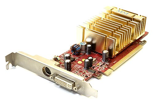 128 Mb Ddr2-pcie-grafikkarte (MSI ATI Radeon X1550 128MB DDR2 PCIe Graphics Card DVI RX1550-TD128EH MS-V068 (Zertifiziert und Generalüberholt))