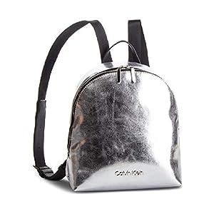 41vhI7usfNL. SS300  - Calvin Klein Snap Mochila Plata metálico