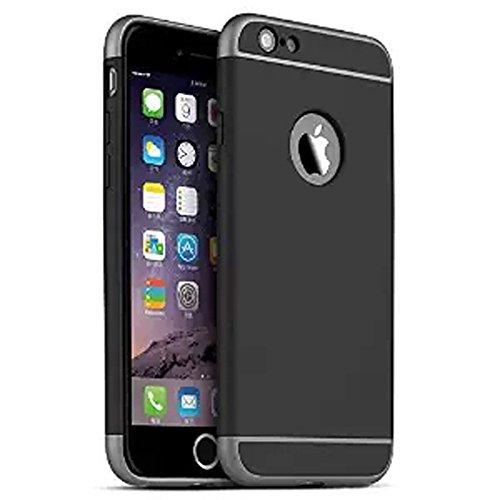 iProtect Apple iPhone 7, iPhone 8 Hülle Slim Hard Case Armor Shockproof Schutzhülle in grau schwarz